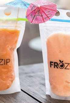 San Antonio's Ida Claire offers up frosé pouches with to-go brunch packages.