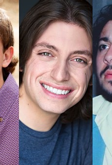 The winners of the 2021 #FilmSA contest include (left to right) Kyle Ward, Evan Materne and Amadeo Rivas.