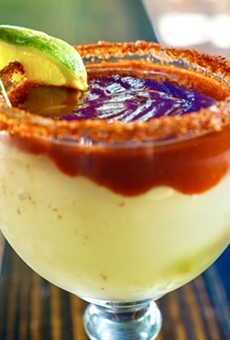 Costa Pacifica is offering its Mexican Bandera Margarita as a drink special.