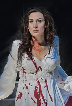 Opera returns to the Tobin Center this weekend with blood-soaked tragedy Lucia di Lammermoor