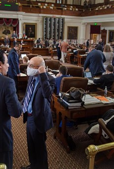 State representatives on the House floor at the Texas Capitol. Credit: