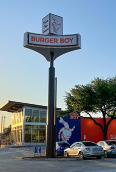 Burger Boy's newest location opened Tuesday.