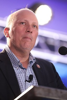 U.S. Rep. Chip Roy speaks at the Young Americans for Liberty Convention in Austin.