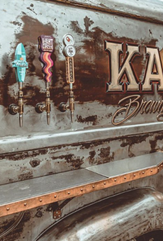 SA-based Cruising Kitchens has debuted a one-of-a-kind mobile taproom for Karbach Brewing.