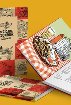 The Cicada Cookbook from Frank's RedHot will be widely available next week.