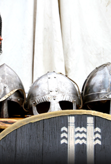 The Texas Viking Festival is held to coincide with the summer and winter solstices.