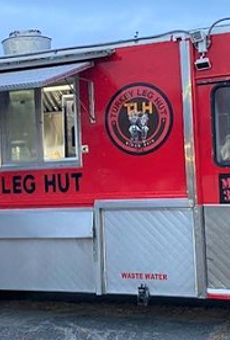 The Turkey Leg Hut is bringing its signature menu item to the 210 next weekend.