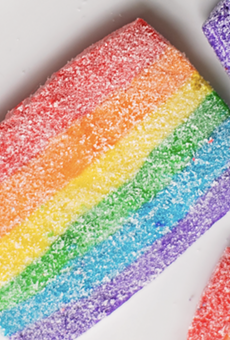 Bakery Lorraine will offer rainbow-themed Pride cookies this month.