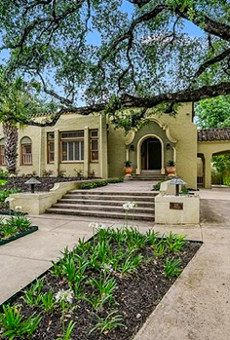 A historic, Spanish-style home once owned by famed San Antonio ad man Ernest Bromley is for sale
