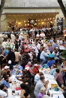 Beethoven Männerchor's Five-day Fiesta Gartenfest is underway.