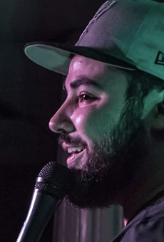 Joshua Cabaza is one of Shotgun House Roaster's featured comedians Saturday night.