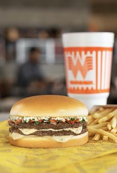 Whataburger's seasonal Pico de Gallo burger is now available.