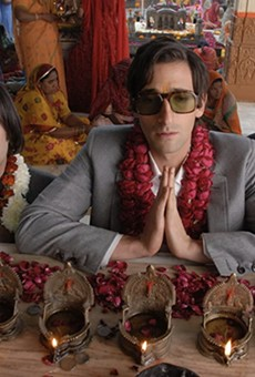 Slab Cinema brings Wes Anderson's whimsy to Legacy Park on Tuesday with a screening of The Darjeeling Limited.