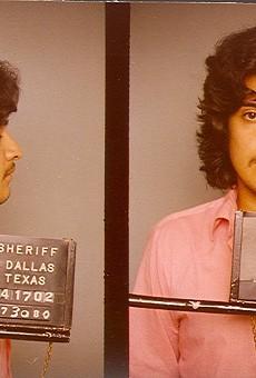 Carlos DeLuna's mugshot in 1980.