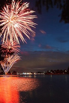 Fireworks return to Woodlawn Lake this year for SA's official Fourth of July Celebration.