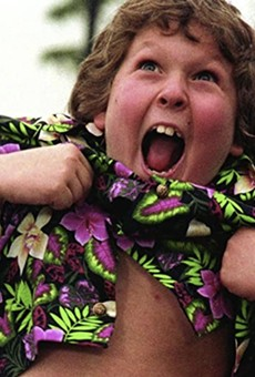 Slab Cinema brings '80s classic The Goonies to Travis Park on Tuesday