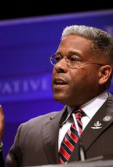 Allen West has repeatedly butted heads with the Texas GOP during his time as chairman.