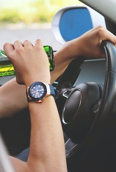Texas experienced 7.76 drunk driving deaths per 100,000 residents, according to the study.