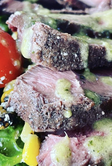 In addition to salads, the new eatery offers açaí bowls and wraps.
