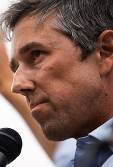 """Former U.S. Rep. Beto O'Rourke, D-El Paso, speaks at """"Texans Rally for Our Voting Rights"""" at the Texas Capitol in Austin on May 8, 2021."""