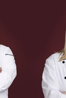 SA native Antonio Ruiz (L) and Emilie Hersh compete on Fox's Hell's Kitchen: Young Guns.