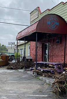 Comfort Café's Bandera location is closed after a massive flood.