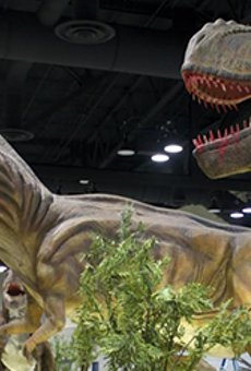 Jurassic Quest will take over the historic Freeman Coliseum in September and October.