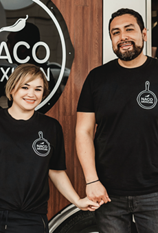 Naco Mexican Eatery owners Lizzeth Martinez (left) and Francisco Estrada.