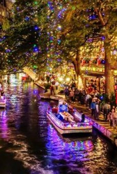 The Ford Holiday River Parade