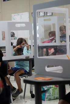 The Texas Supreme Court's order Thursday temporarily allows school districts to require face coverings.
