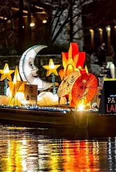 This year's the Ford Parade of Lanterns returns to the River Walk this weekend following its postponement from February.