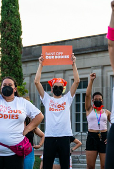 Everything we saw as San Antonio women protested Texas' six-week abortion ban
