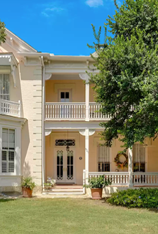 The restored 1882 home of San Antonio's prominent Hertzberg family is now for sale