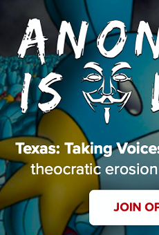 Anonymous hacks Texas Republican Party website in retaliation for state's abortion ban