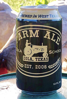 Farm Ale Brewing Co. will open October 9 in Eola, Texas.