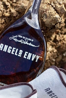 Whiskey Cake will hold a five-course dinner showcasing spirits produced by Angel's Envy Distillery.