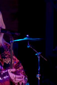 Billie Eilish performs on MTV Push in 2019.
