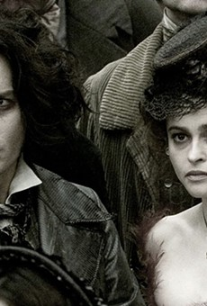 Don't worry — the Botanical Garden's screening of Sweeney Todd doesn't come with a haircut.