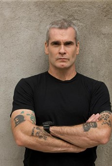 Henry Rollins likes to talk, and that's what he'll be doing at the Tobin Center come next spring. Photo credit: Heidi May