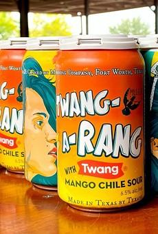 San Antonio-based Twang has partnered with Martin House Brewing Co. for Twang-a-Rang, a mango chili beer.