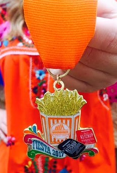 Snag this Whataburger Fiesta Medal at Tuesday's Pop-up Store