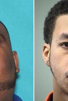 Sheriff's officials say jail employee Luis Saldivar (left) tipped off capital murder suspect Kenton Haynes, told him to run.