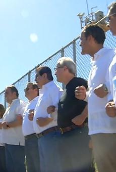 Congressmen Hurd, Castro Join Border Rally Against Trump's Wall