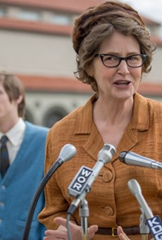 Academy Award-winning actress Melissa Leo stars as atheist activist Madalyn Murray O'Hair in the Netflix drama The Most Hated Woman in America.