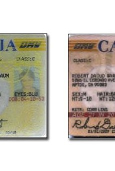 Authorities say Sandra Merritt and David Daleiden used these fake IDs to lie their way into a Houston Planned Parenthood clinic.