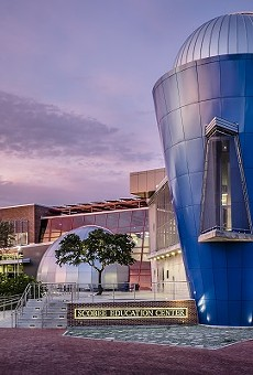 The Scobee Planetarium and Education Center at San Antonio College.