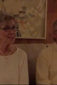 Glenn and Judith Cherry advocate for Paul Storey.
