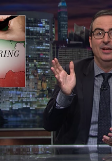 John Oliver delivers a lesson about gerrymandering in the U.S.