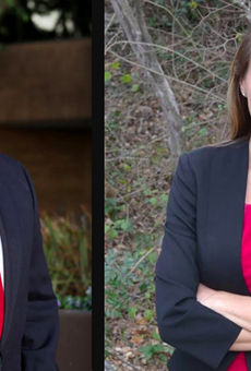 District 9 candidates Van Holen and Wallace