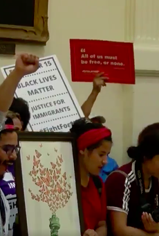 Lawmaker Threatens To Call ICE on Immigrants Protesting Sanctuary City Bill